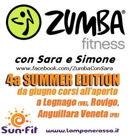 Zumba Summer ! 4a Edizione all'aperto del corso zumba !